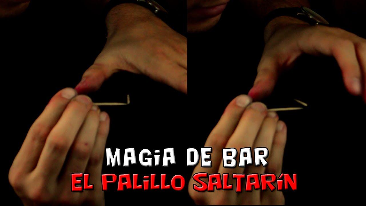 Cómo hacer saltar un palillo sin tocarlo (magia de bar, el palillo saltarín)
