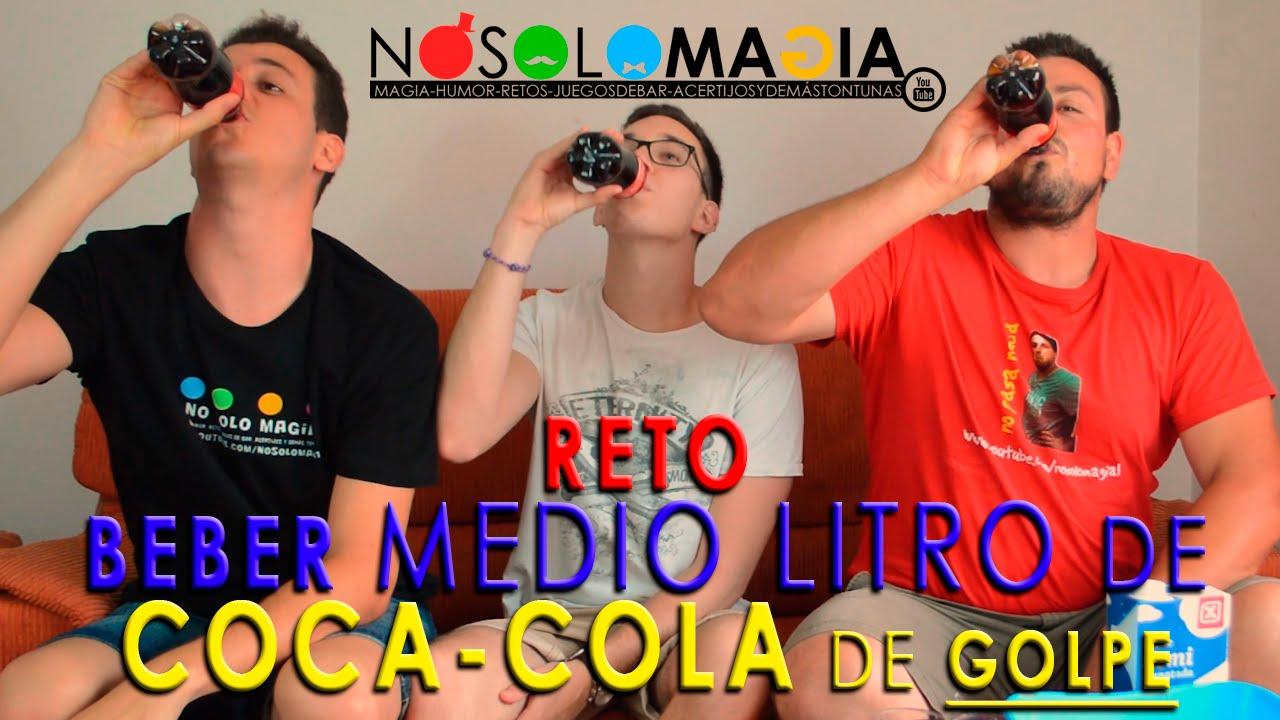 Beber Medio Litro de Cocacola de Golpe – Los Retos De Jairo