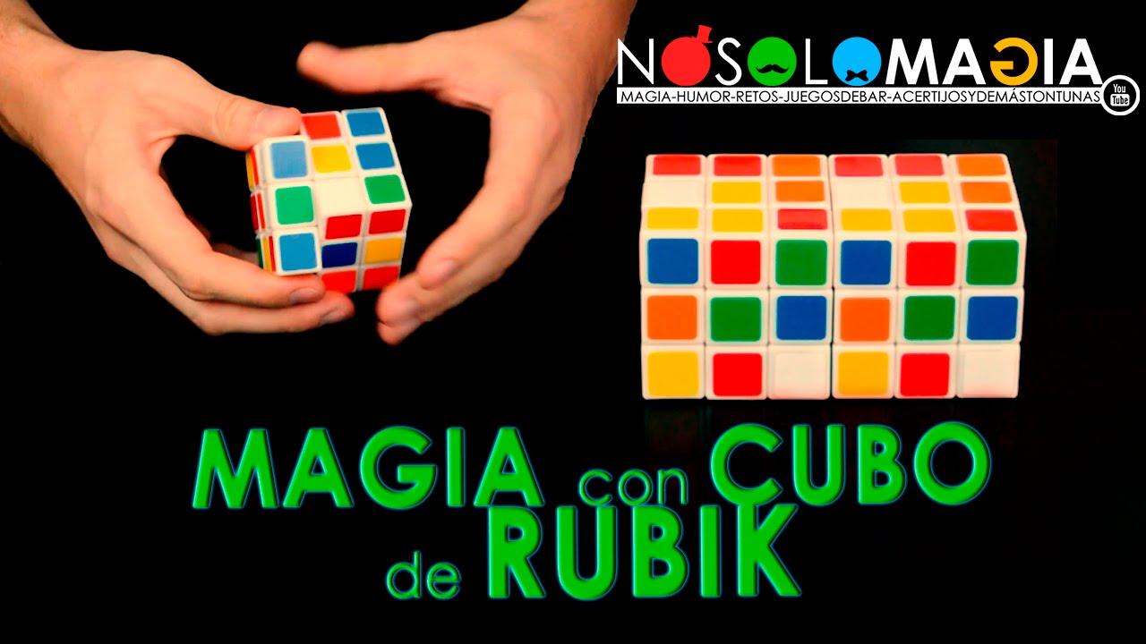 Cubo de Rubik   Truco de Magia   Resolver El Cubo de Rubik Mágicamente