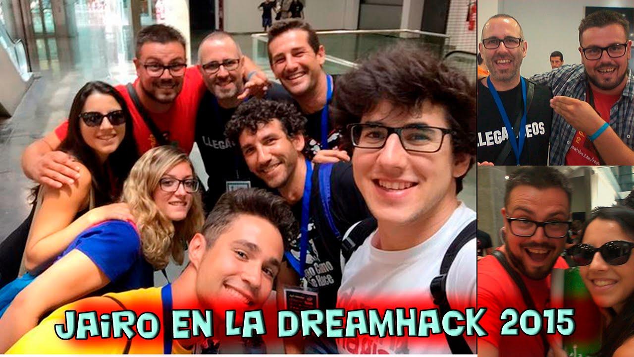 Jairo en la #DreamHack2015
