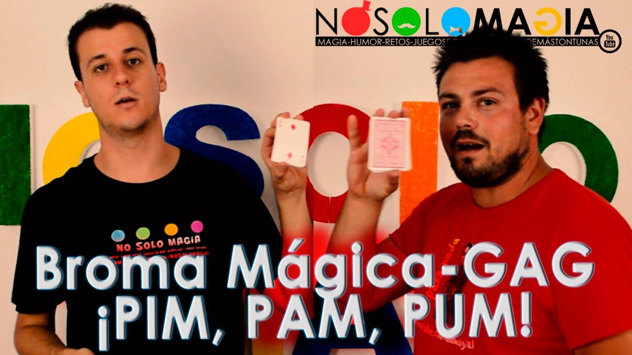 Broma Mágica con Cartas FÁCIL | Gag Cómico | PIM, PAM, PUM