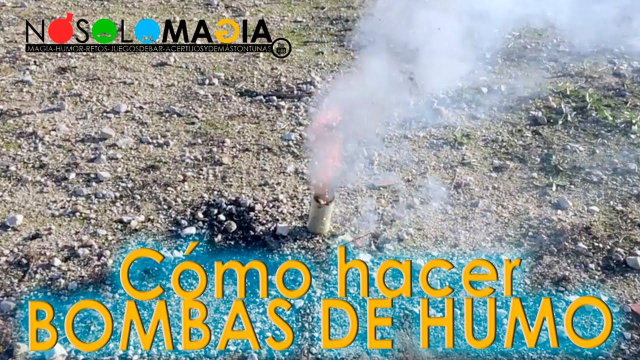 Cómo Hacer Bombas de Humo con @chindas12