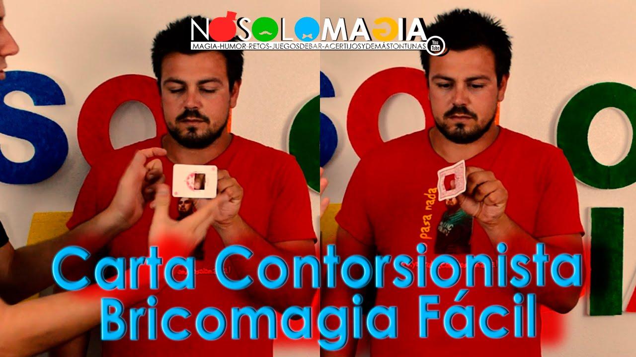 Magia Carta Contorsionista | Bricomagia | Cómo Se Hace