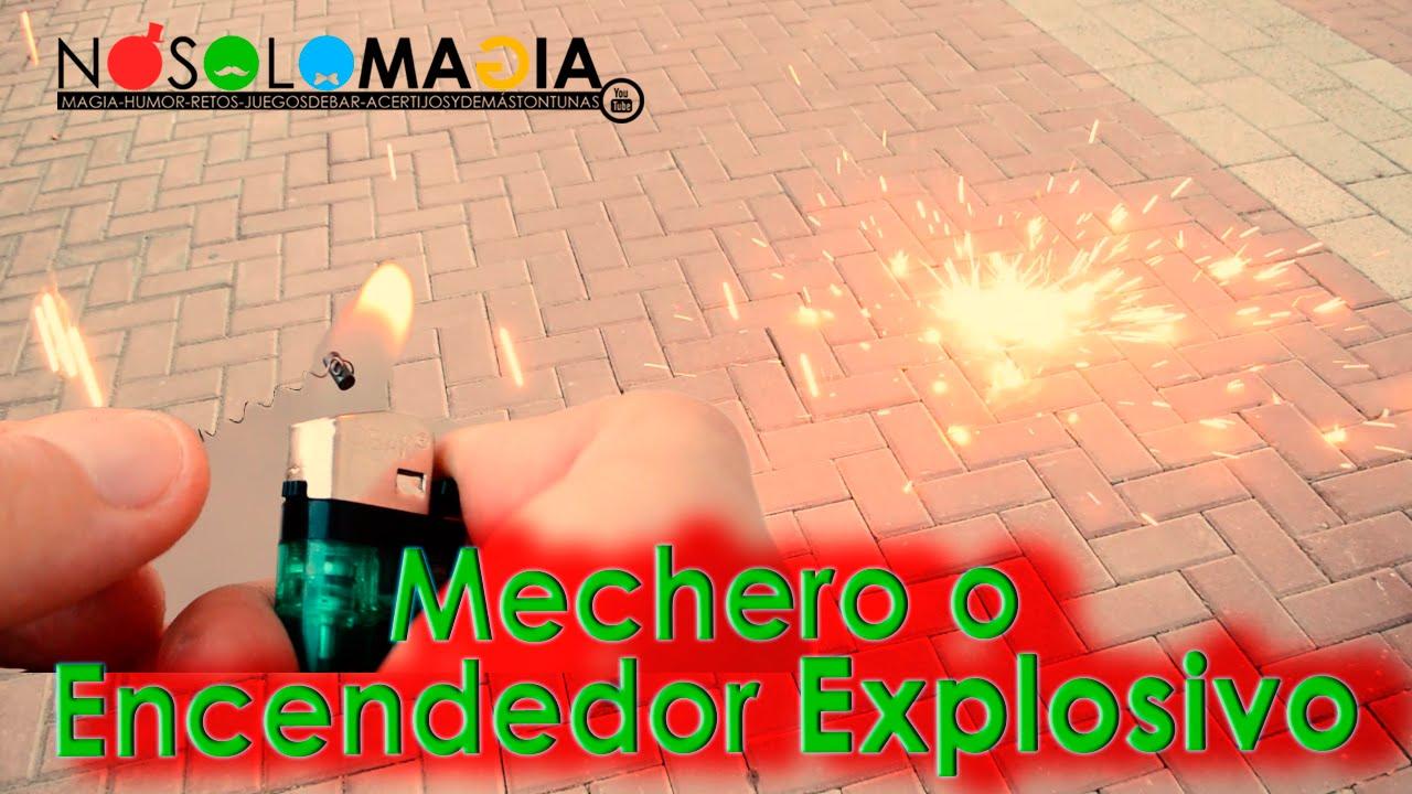 Mechero o Encendedor Explosivo | Ciencia Mágica | Cómo Se Hace