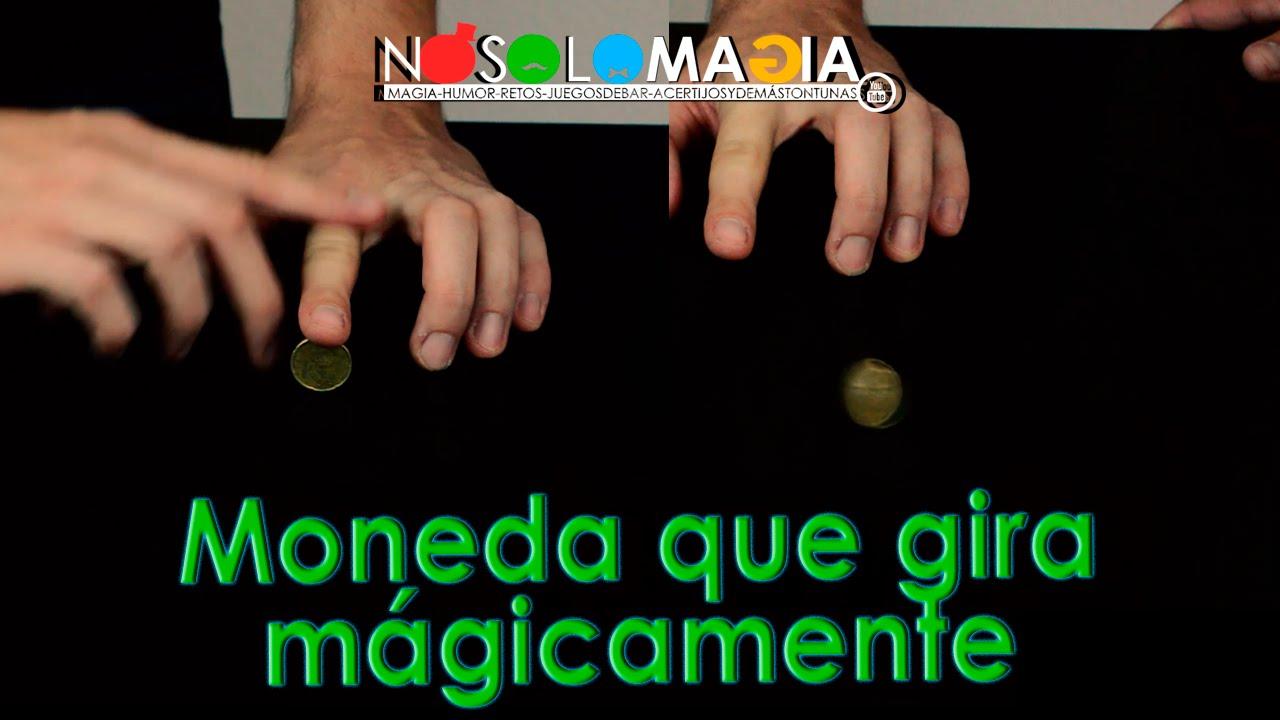 Moneda Gira Sola Mágicamente | Cómo Se Hace | No Solo Magia