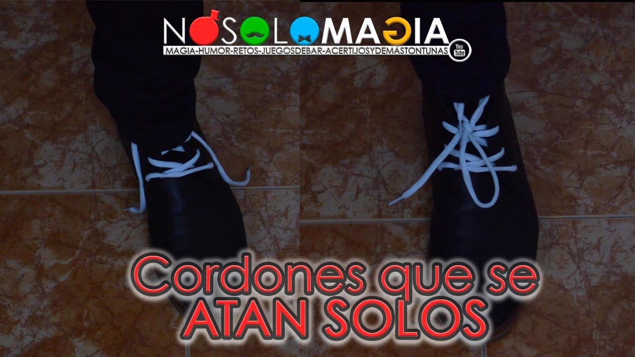 Cordones Se Atan Solos Mágicamente | Como Se Hace | NoSoloMagia