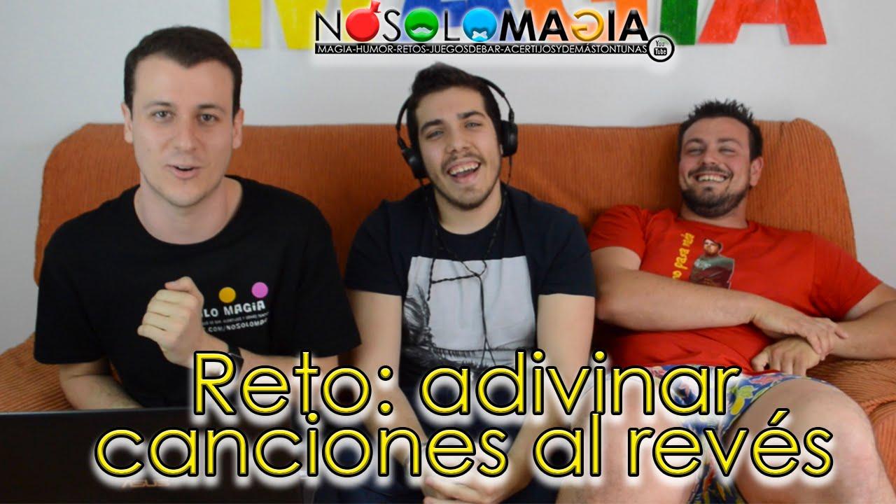 Adivinar Canciones Al Revés con @PedroJRuiz | Rewind Challenge | Los Retos de Jairo